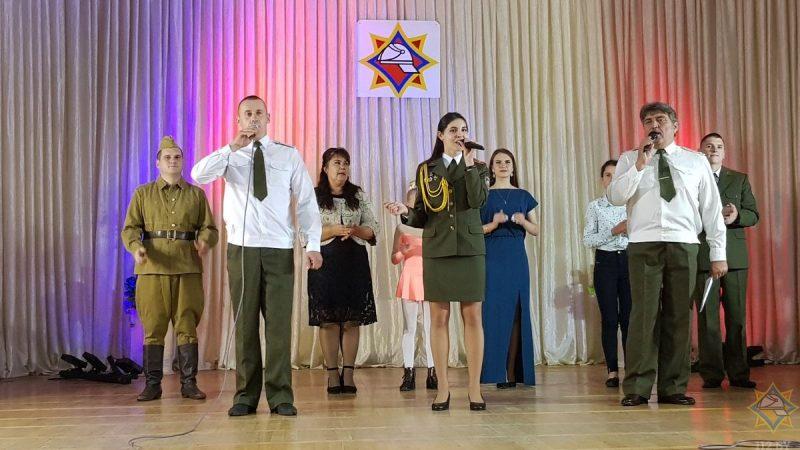 Областной фестиваль творчества среди спасателей проходит на Гродненщине