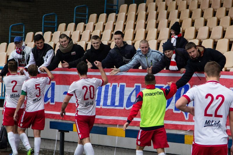 Футбольный клуб «Лида» завершил сезон на 7-м месте