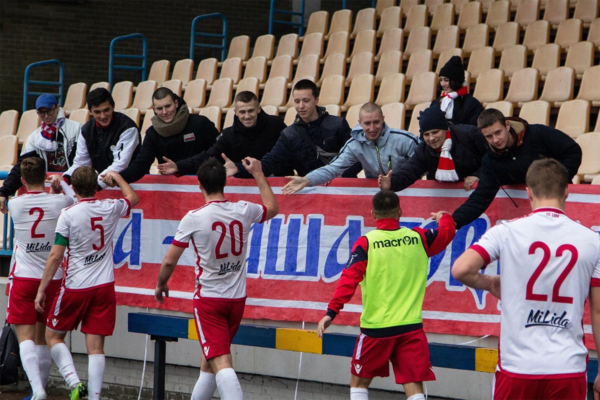 Футбольный клуб «Лида» завершил сезон на 7-м месте.