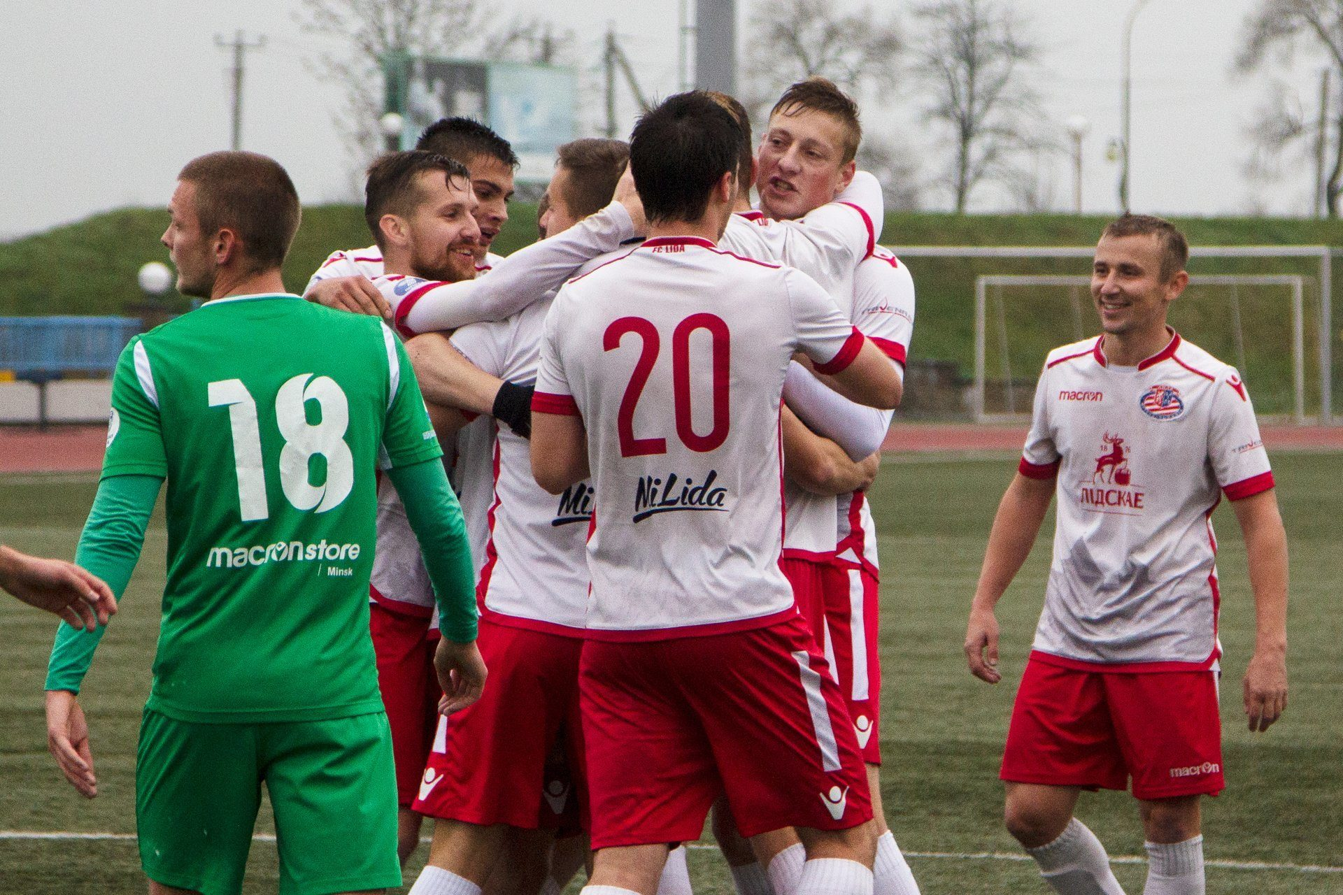 Футбольный клуб «Лида» минимально обыграл «Спутник»