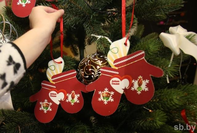 Благотворительная акция «Чудеса на Рождество» продолжается на Лидчине