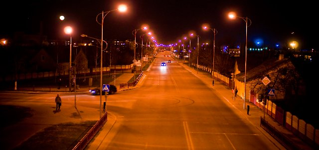 Движение автотранспорта в центре Лиды будет ограничено в новогоднюю ночь