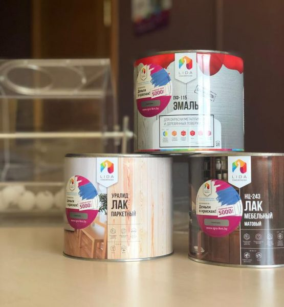 Более 70% продукции лидского предприятия «Лакокраска» идет на экспорт