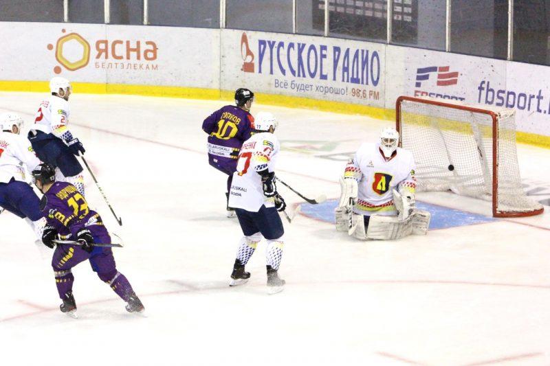 Хоккейный клуб «Лида» проиграл на старте второго этапа чемпионата страны