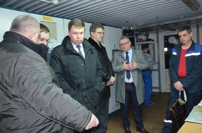 Заместитель Премьер-министра Беларуси Владимир Кухарев в рамках рабочей поездки по Гродненской области посетил Лидчину
