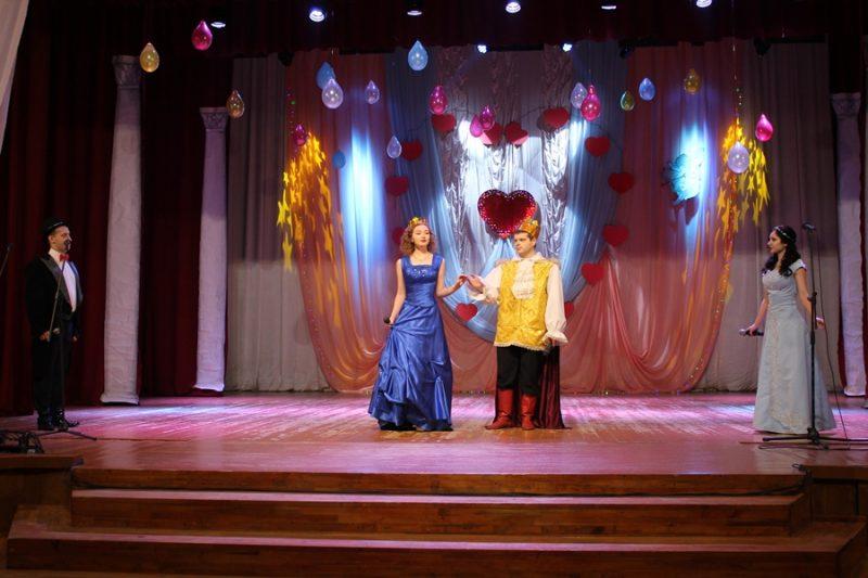 XIV региональный молодежный фестиваль-конкурс эстрадного творчества «Музыкальные Валентинки» прошел в Березовке