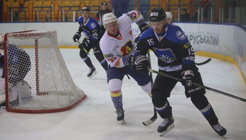 Хоккейный клуб «Лида» на своем льду потерпел поражение от «Химика»