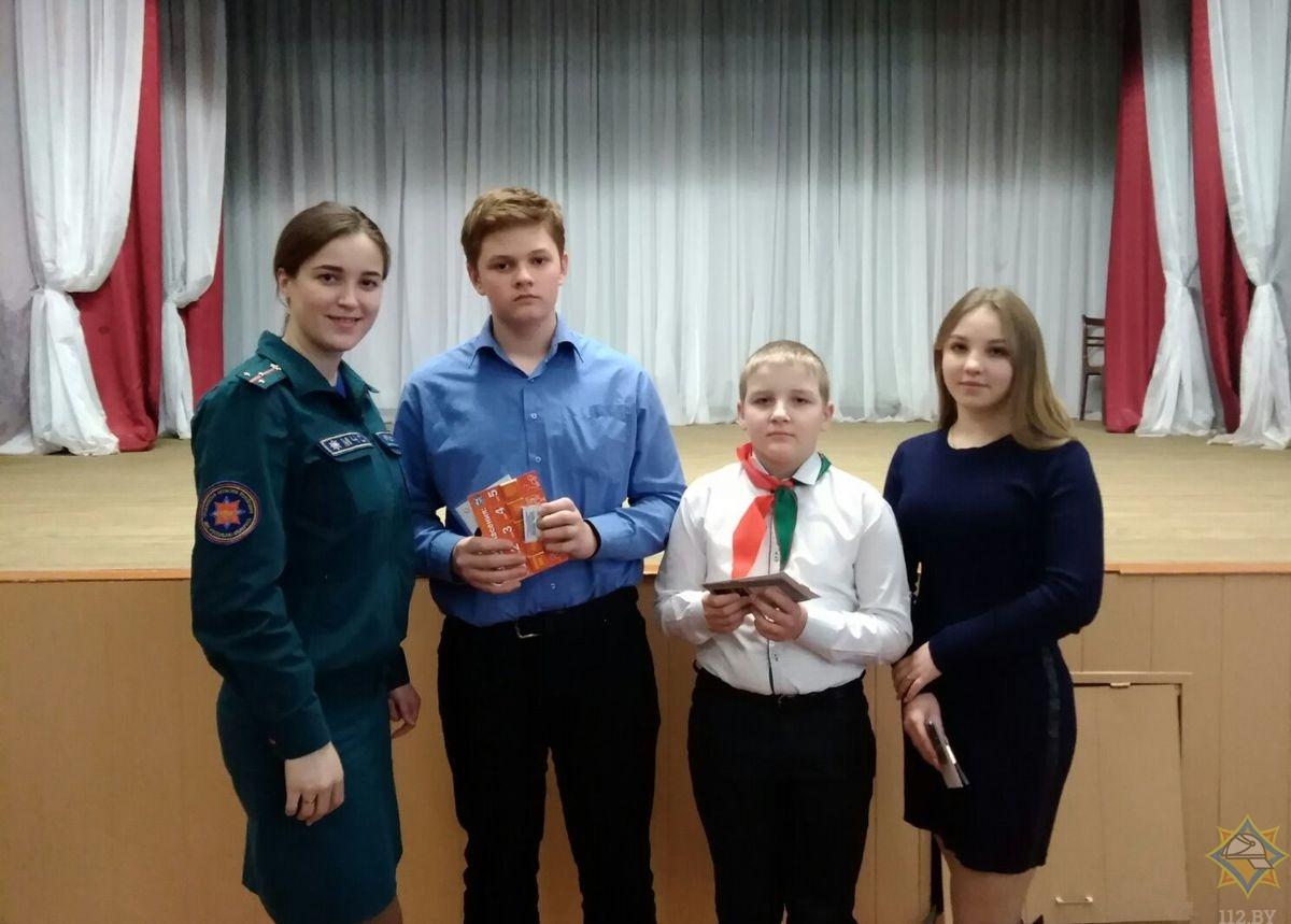 Состоялся районный тур конкурса-олимпиады «Школа безопасности»