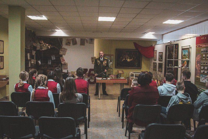 В Лидском историко-художественном музее прошло мероприятие, посвященное 75-летию Великой Победы