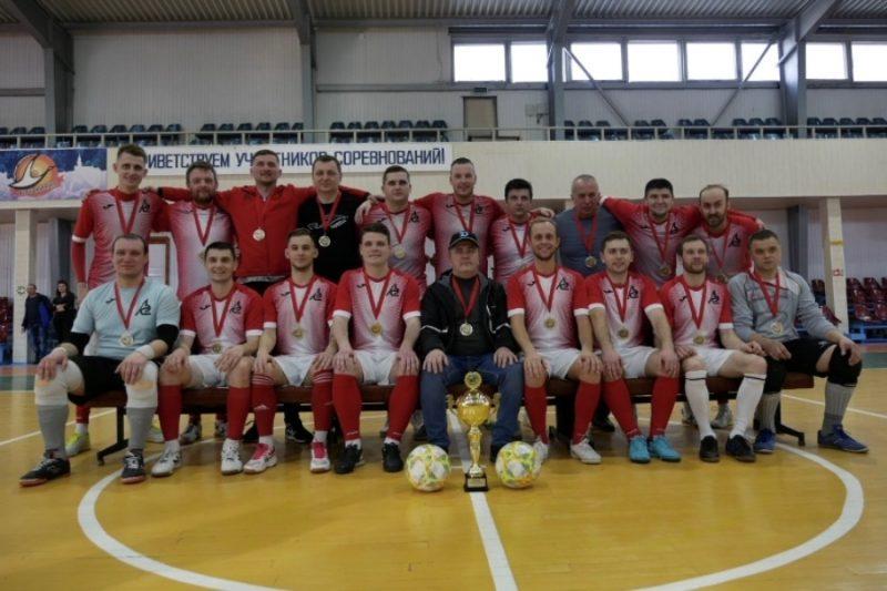Лидская мини-футбольная команда «Электросети» стала чемпионом области