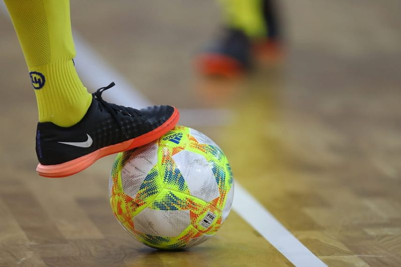 Лидская команда «Электросети» провела матч 1/16 финала Кубка Беларуси по мини-футболу