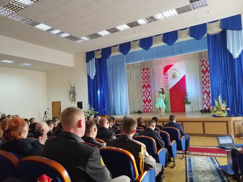 В Лиде прошло мероприятие по случаю Дня Департамента охраны МВД
