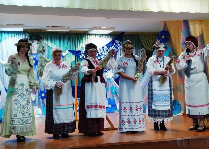 Региональный конкурс «Алена-Льняніца» состоялся в Гончарском Доме культуры