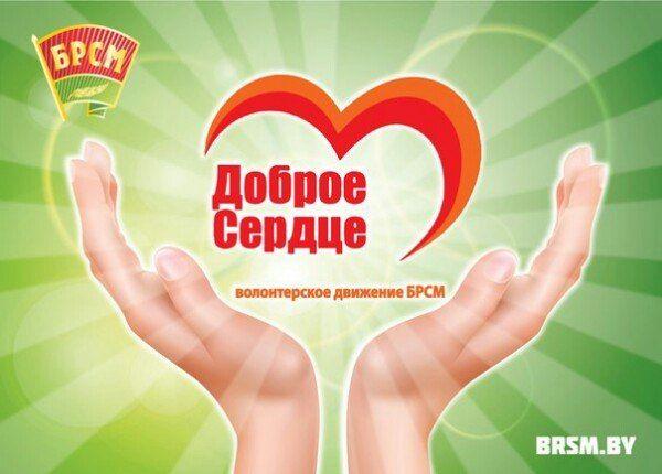 Лидский райком «БРСМ» подводит итоги районного этапа республиканского конкурса «Волонтер года – Доброе сердце»