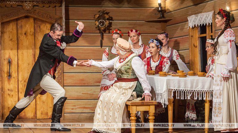 Национальный академический театр имени Янки Купалы сегодня выступит в Лиде