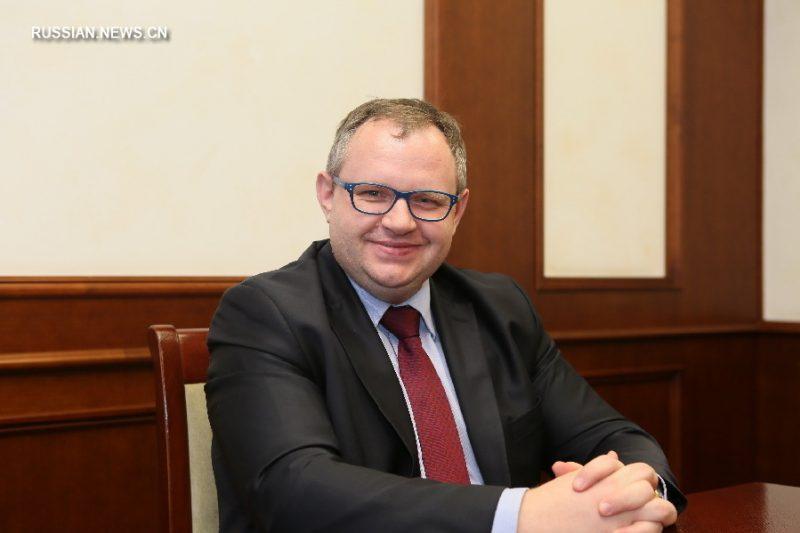 Министр финансов Беларуси Максим Ермолович сегодня приехал в Лиду