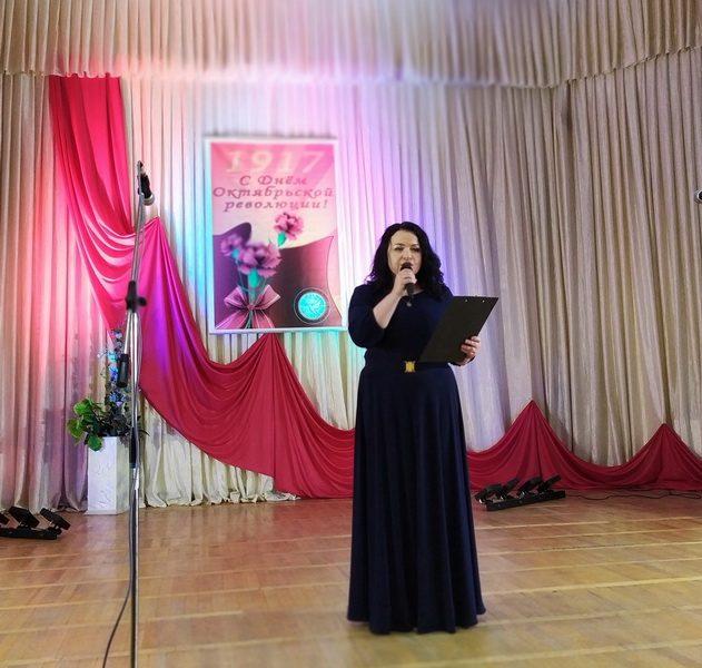 В Лиде прошло мероприятие, посвященное Дню Октябрьской революции