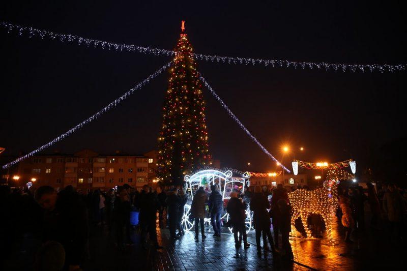 Огни на главной елке Лиды зажгут 7 декабря