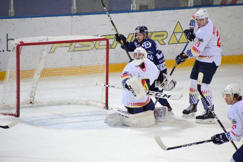 Хоккейный клуб «Лида» уступил на выезде «Динамо-Молодечно»