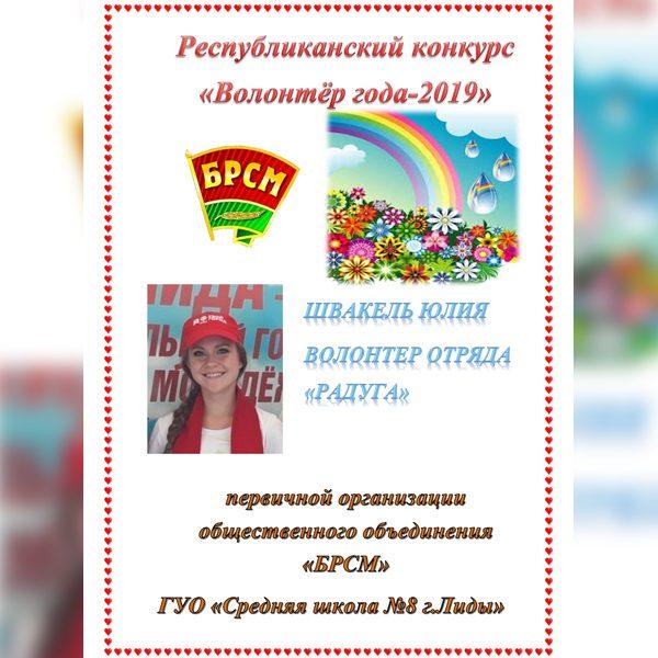 Подведены итоги областного этапа республиканского конкурса «Волонтер года – Доброе сердце»