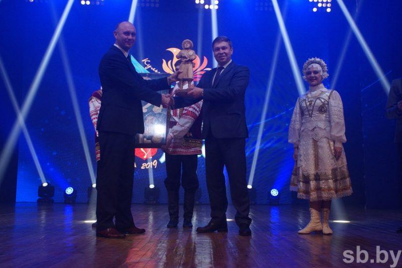 Лида приняла у Пинска эстафету культурной столицы Беларуси