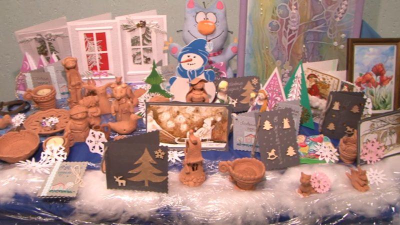 Лидская детская художественная школа искусств приглашает на благотворительную рождественскую ярмарку
