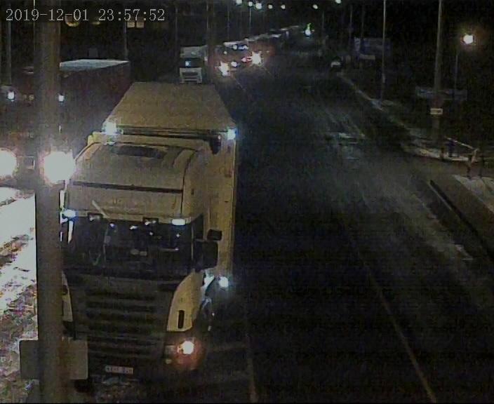 Около 850 грузовых автомобилей ожидают выезда на белорусско-литовской границе