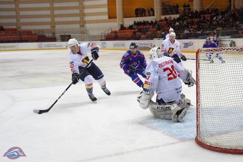 Хоккейный клуб «Лида» провел очередной матч переходного турнира.