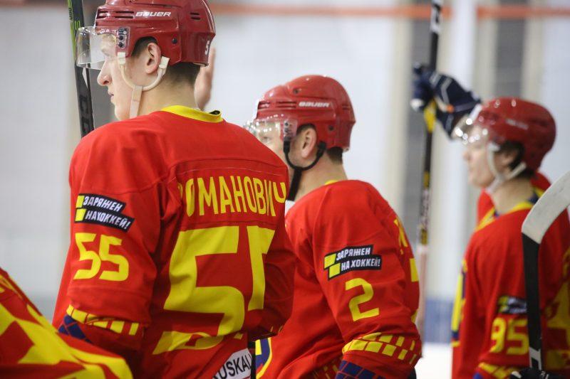 Хоккейный клуб «Лида» провел очередной матч переходного турнира