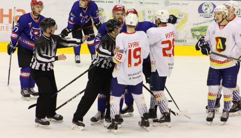 Хоккейный клуб «Лида» уступил «Бресту»