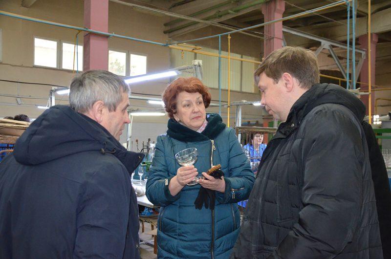 Местная власть поддерживает намерения стеклозавода «Неман» активнее продвигать промышленный туризм