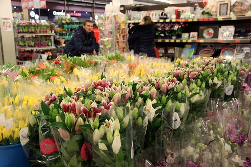 В Лиде с 6 по 8 марта будет организована торговля живыми цветами
