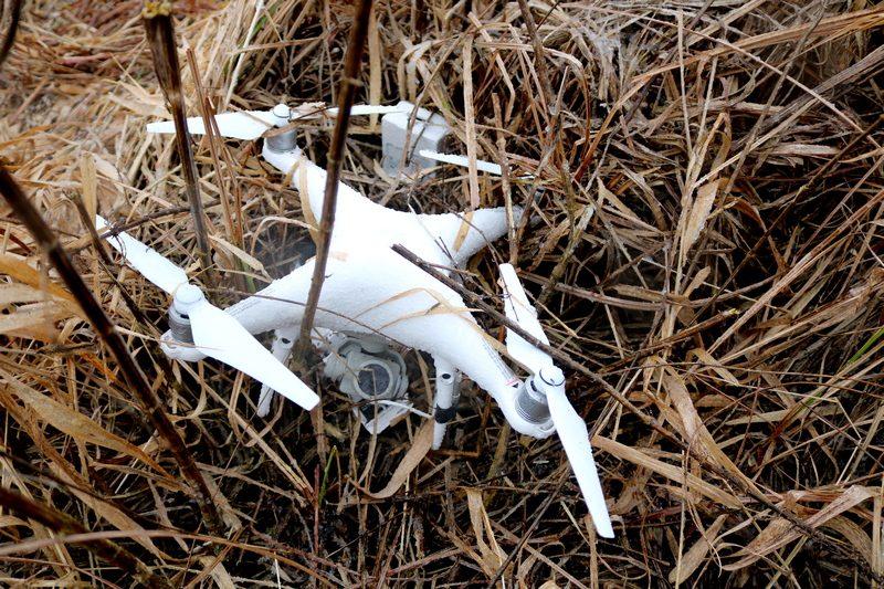 Лидские пограничники пресекли полет квадрокоптера вблизи госграницы