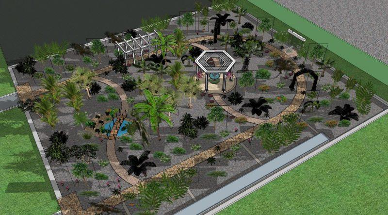 Создание ботанического сада в Лиде находится на этапе предпроектных работ