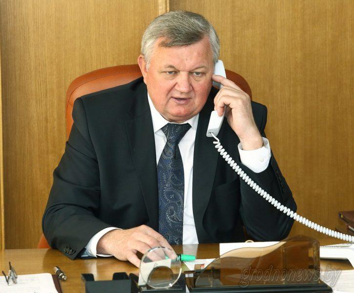 Первый заместитель председателя Гродненского облисполкома Иван Жук проведет в Лиде личный прием граждан