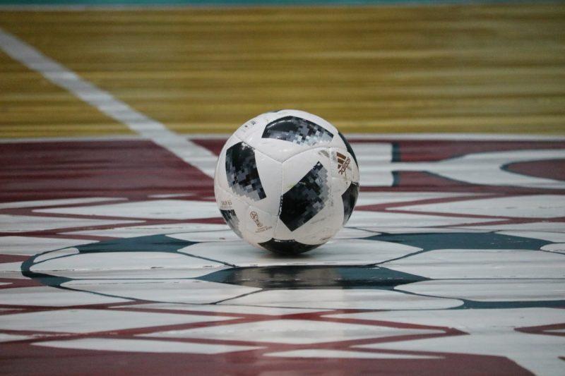 Лидская команда «Электросети» провела первый финальный матч чемпионата Гродненской области по мини-футболу