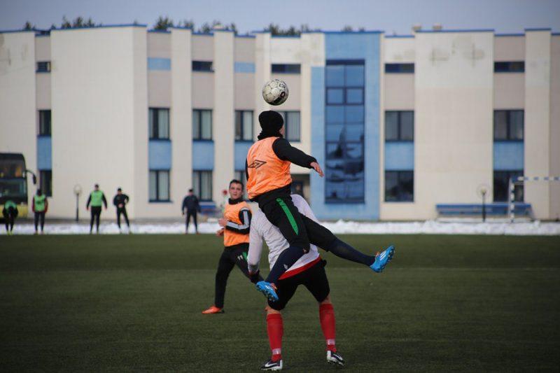 Футбольный клуб «Лида» продолжает вести подготовку к старту нового сезона
