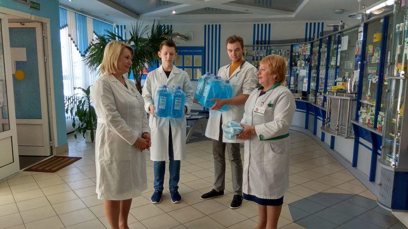 Гродненское предприятие «Фармация» оказало безвозмездную помощь лидским медикам