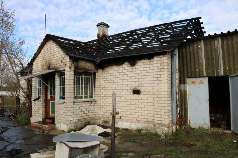 В Лиде при пожаре в жилом доме погибла пенсионерка