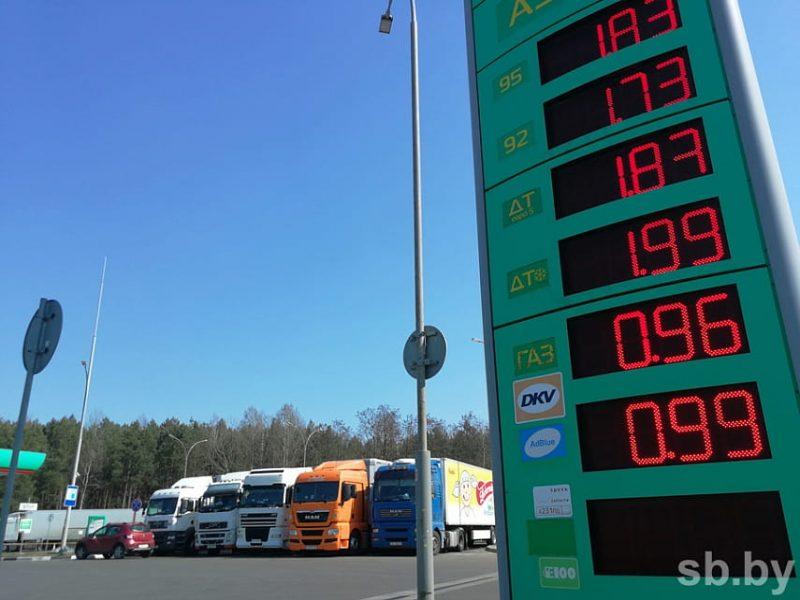 В Гродненской области оборудовано семь АЗС для водителей-международников