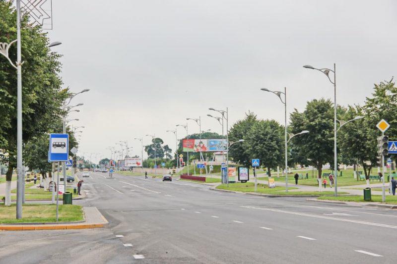 Улицы Лиды обновляются