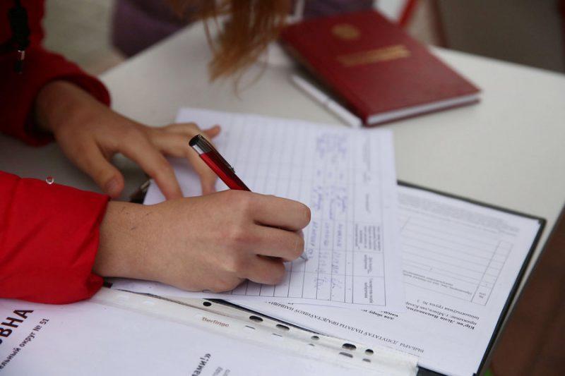 В Беларуси продолжается сбор подписей избирателей в поддержку кандидатов в Президенты