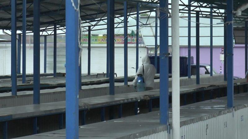 Рынок по улице Комсомольской в Лиде вчера был закрыт