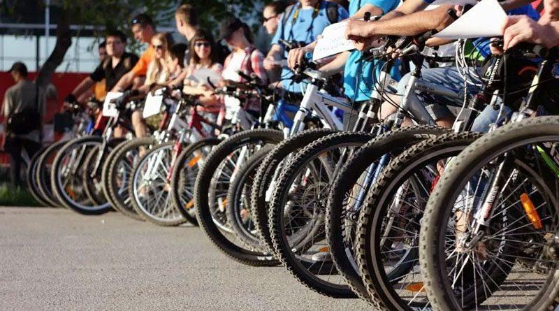 В Лиде на трассе в лесном массиве «Боровка» состоялся традиционный районный велопробег