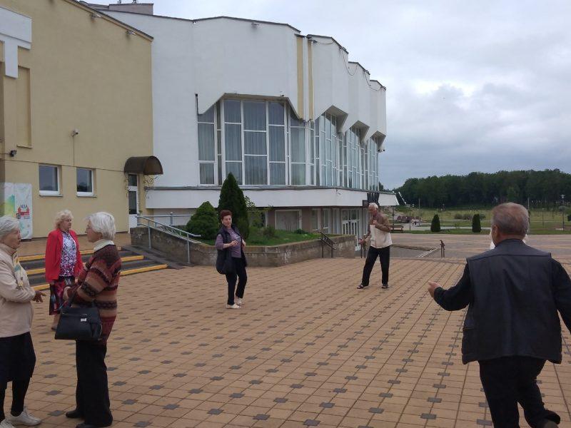 Дворец культуры города Лиды начал проводить мероприятия на открытом воздухе