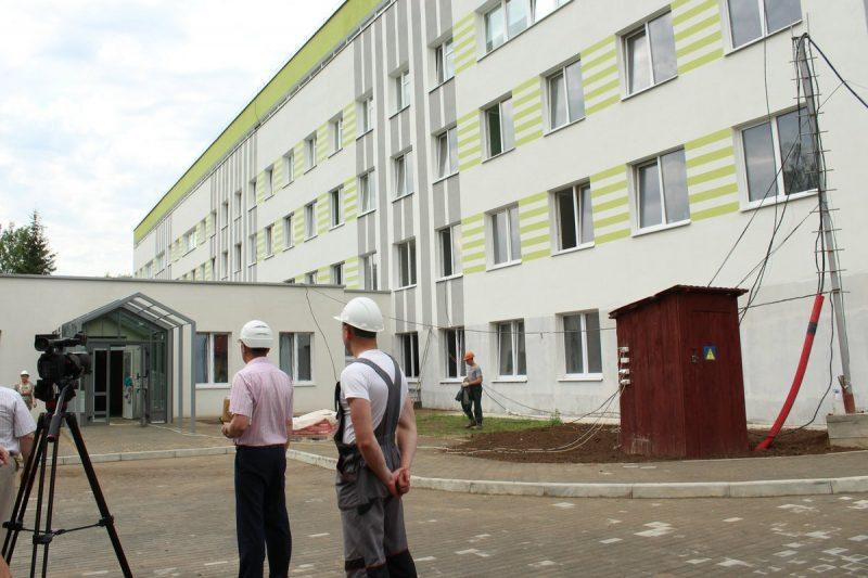 Завершается первый этап капитального ремонта и модернизации хирургического корпуса центральной районной больницы