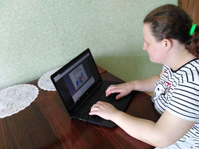 Отделение дневного пребывания для инвалидов города Лиды организовало онлайн-лагерь «Возможности без границ»