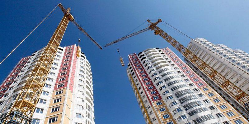 В Лиде продолжается возведение жилых многоквартирных домов