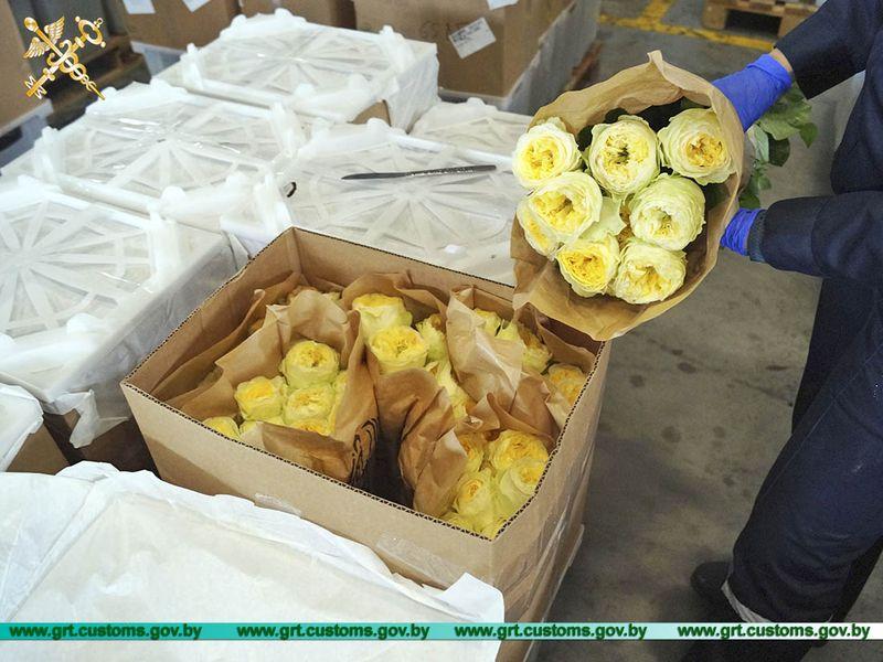 Таможенники в июле пресекли 20 попыток незаконного ввоза цветов из Литвы.