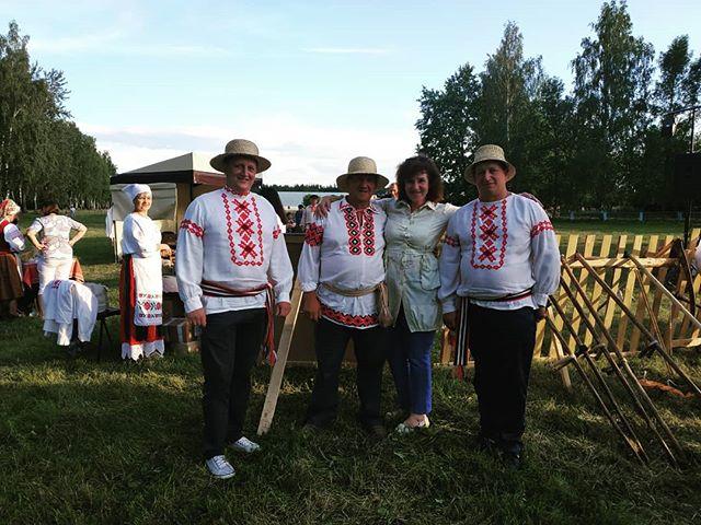 Районный праздник косьбы «Звініць каса – жыве вёска» состоялся на Лидчине